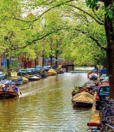 Découverte de la ville d'Amsterdam