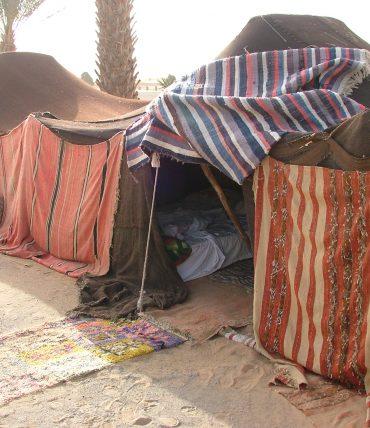 Immersion à dos de chameau dans le désert marocain
