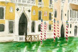 Atelier peinture à Venise