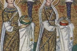 Ravenne, les pixels du VI° siècle