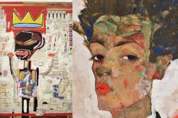Expos Basquiat et Egon Schiele Fondation LV