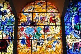 Les vitraux de Chagall à Hadassah