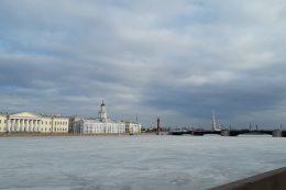 Entre amis à Saint-Pétersbourg