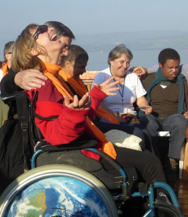 Pèlerinage handicapés en Terre Sainte