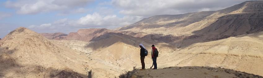 Spi-trek en Jordanie